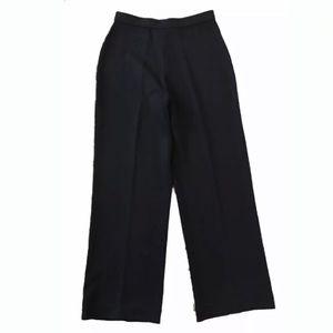 St. John Basics Sz 8 Santana Knit black pants